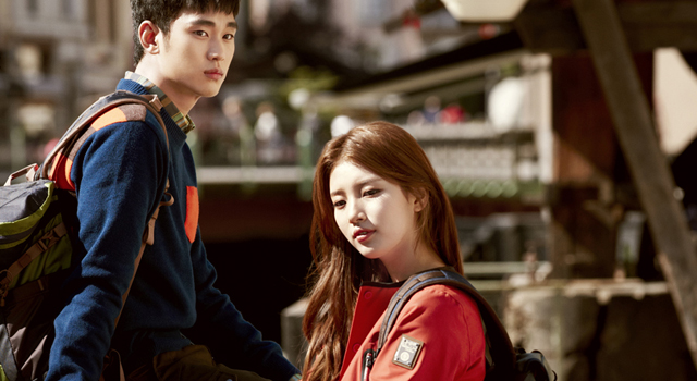Bean Pole Outdoor Fall 2013 Campaign With Mont Blanc Lovers Kim Soo Hyun Suzy Couch Kimchi