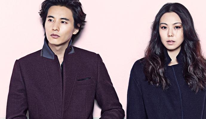 Chris  Christy Winter 2013 Ad Campaign With Won Bin & Kim Min Hee