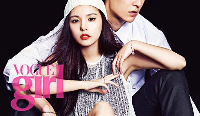 Min Hyo Rin And Top