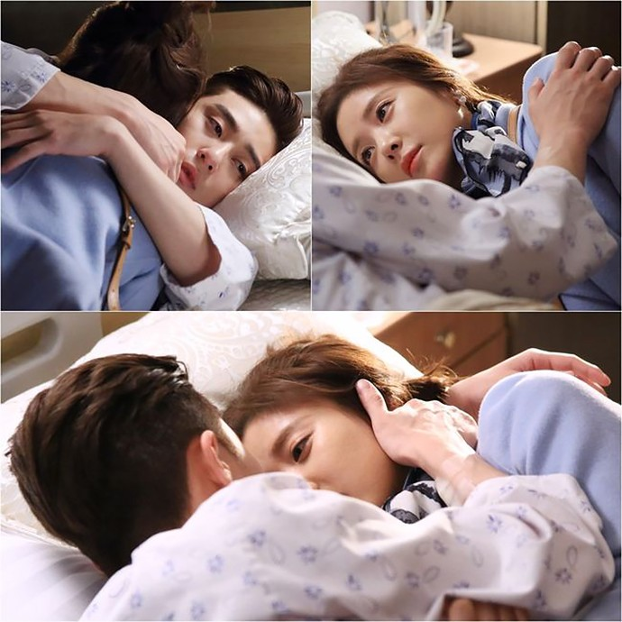 She Was Pretty Park Seo Joon Hwang Jung Eum Are Snuggle Buddies